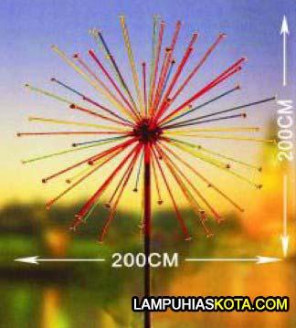 Beli lampu hias alun alun kota murah firework GCSN-FL005 dengan 1144 leds